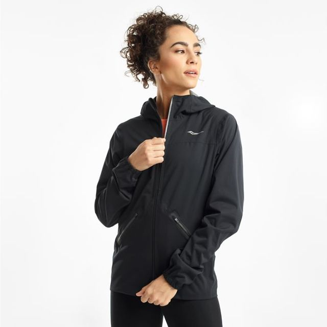 Saucony Drizzle Lady Jacket (Black)