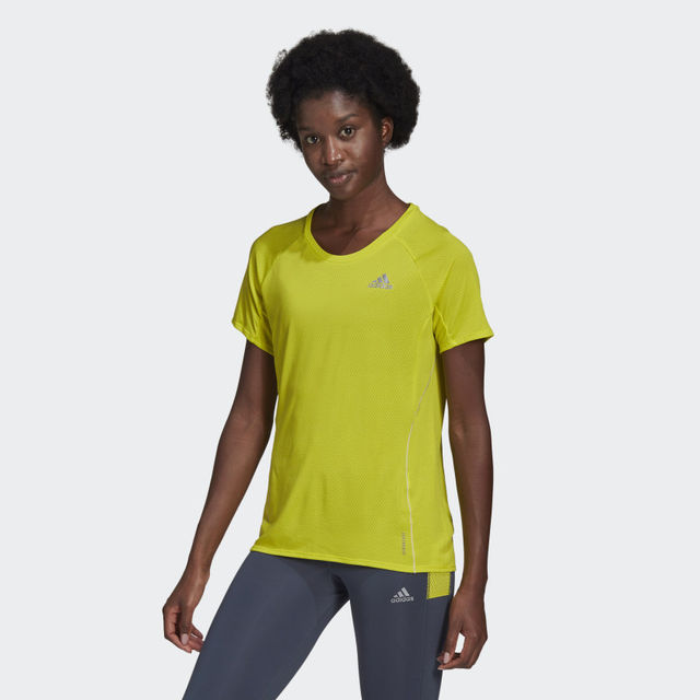 adidas Adi Runner Tee w (Acid Yellow)