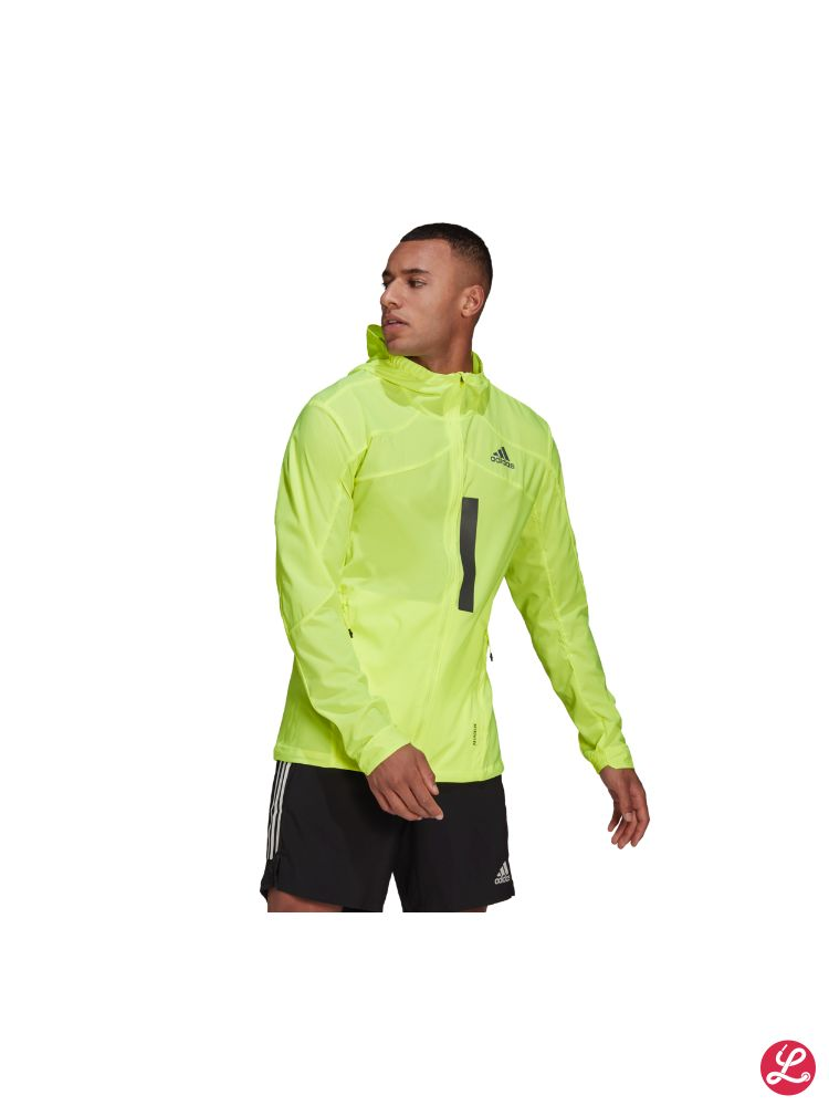 adidas Marathon Jacket (Yellow)
