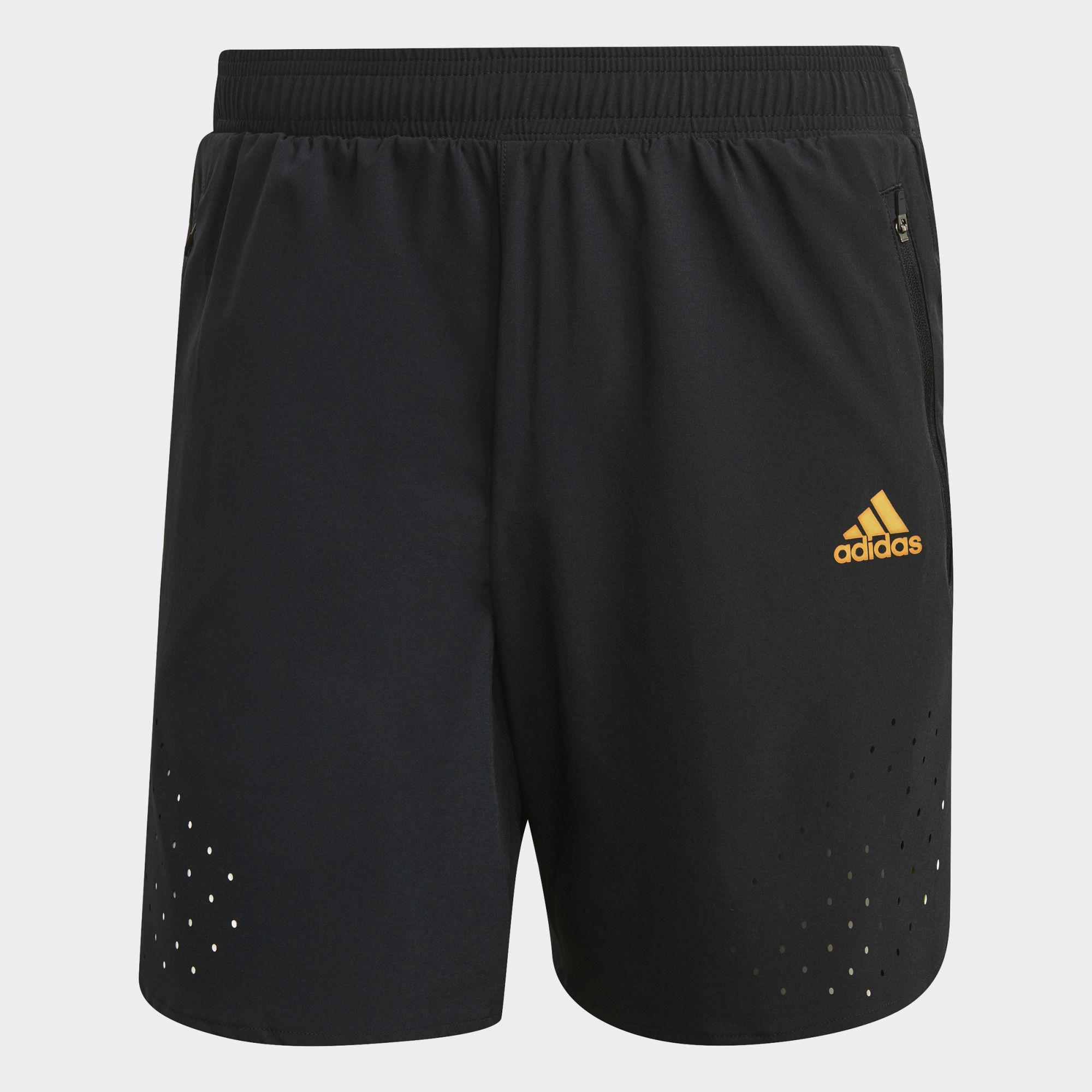 "adidas Ultra Short 7"" (Black Yellow)"