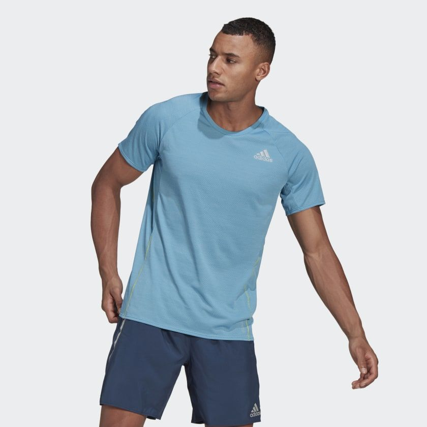 adidas Adi Runner Tee (Haze Blue)