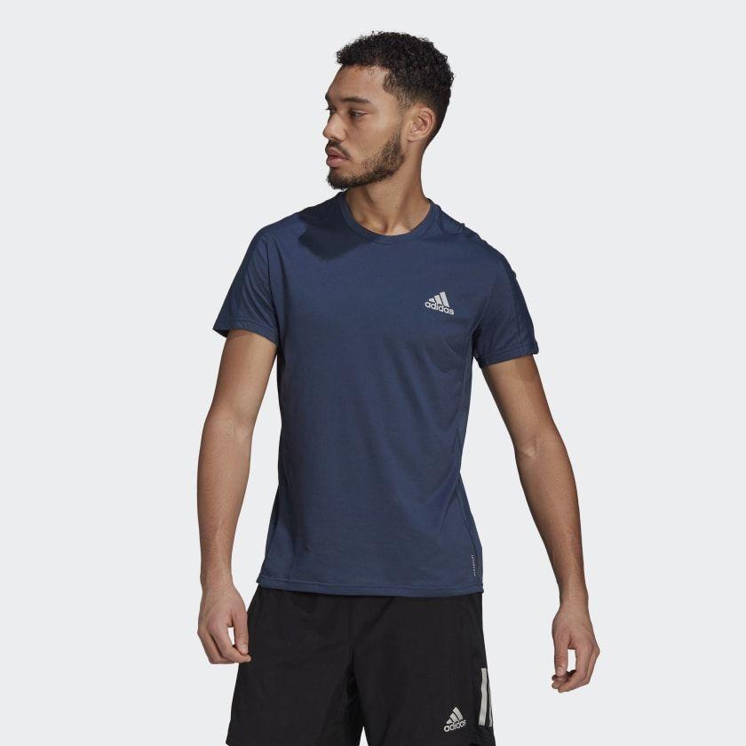 adidas Own the run Tee (Navy)