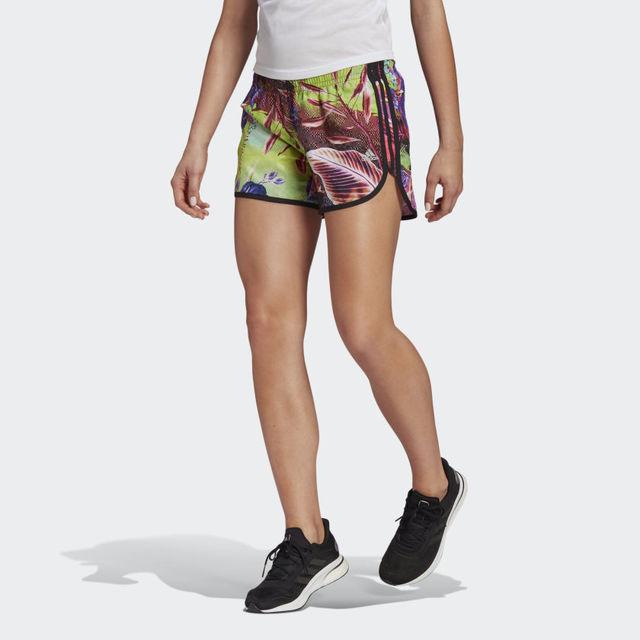 "adidas Floral M20 Short 4"" w (Floral Print)"