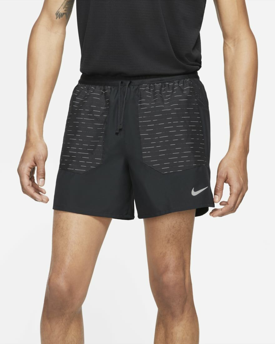 "Nike Flex Stride Run Division Shorts 5"" (Black)"