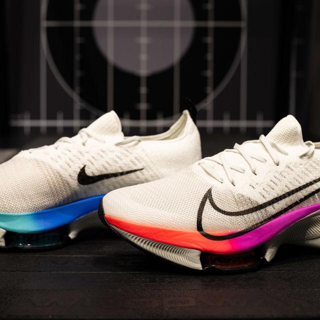 Nike Air Zoom Tempo Next% FK (Weiß Schwarz Bunt)