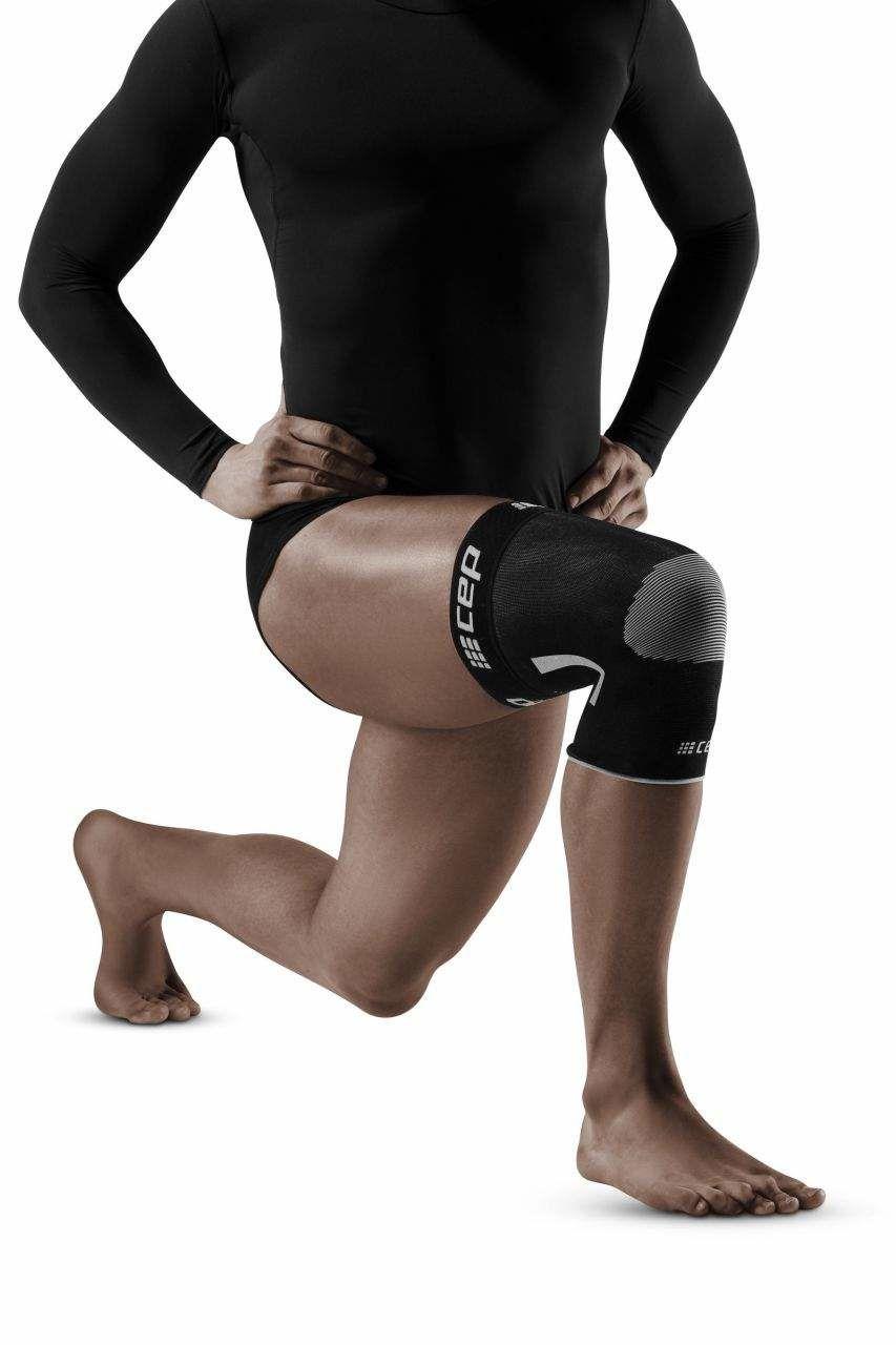 cep Compression Knee Sleeve (Schwarz)
