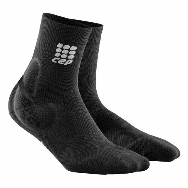 cep Ankle Support Comp. Socks (Schwarz)