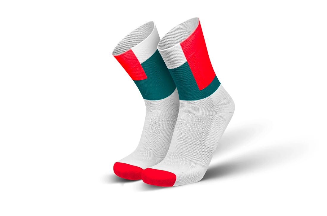 Incylence Squares Inferno (White Green Red)