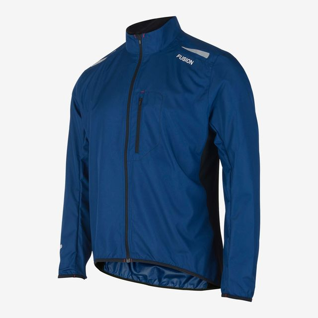 Fusion S1 Run Jacket (Night Blue)