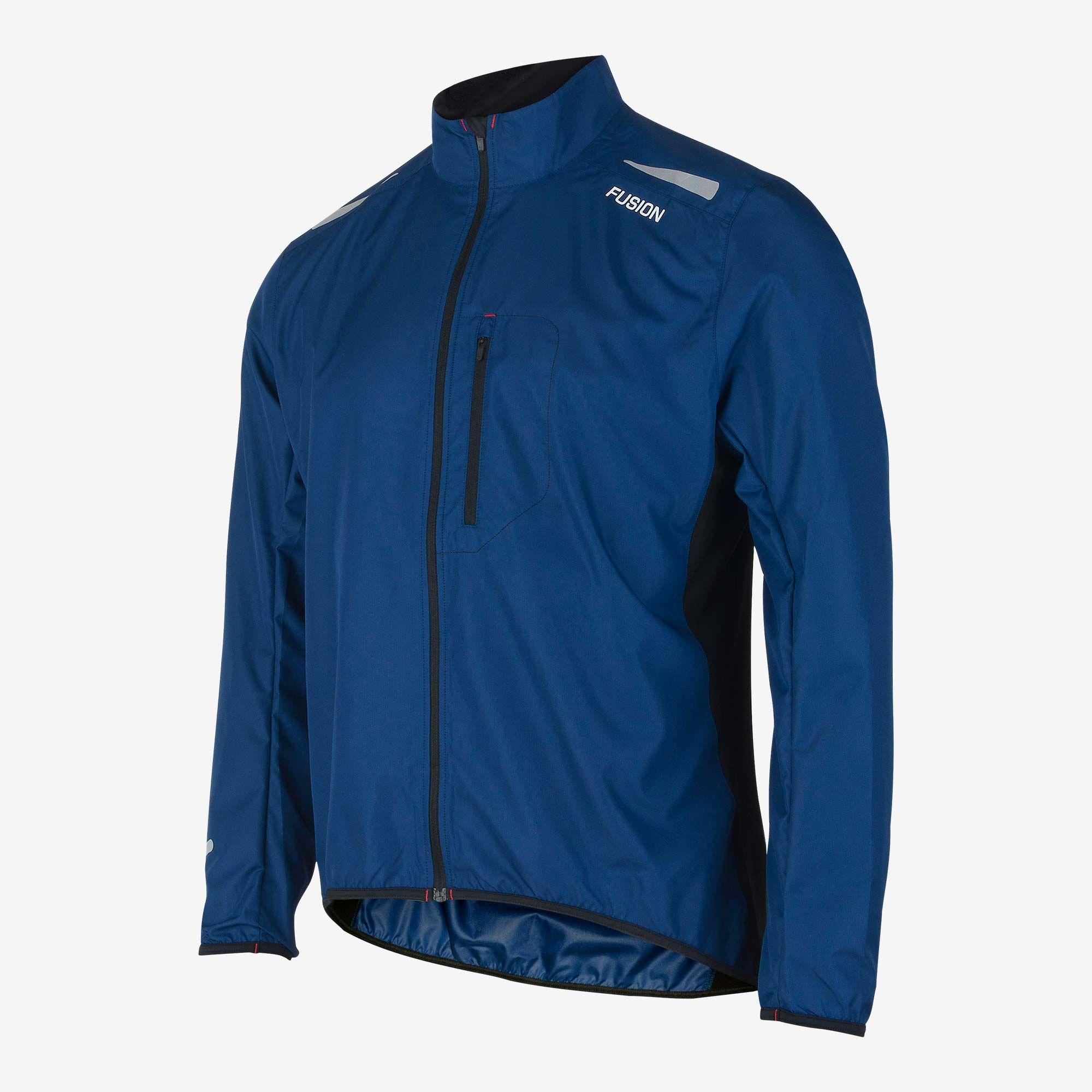Fusion S1 Run Jacket (Night Blue)