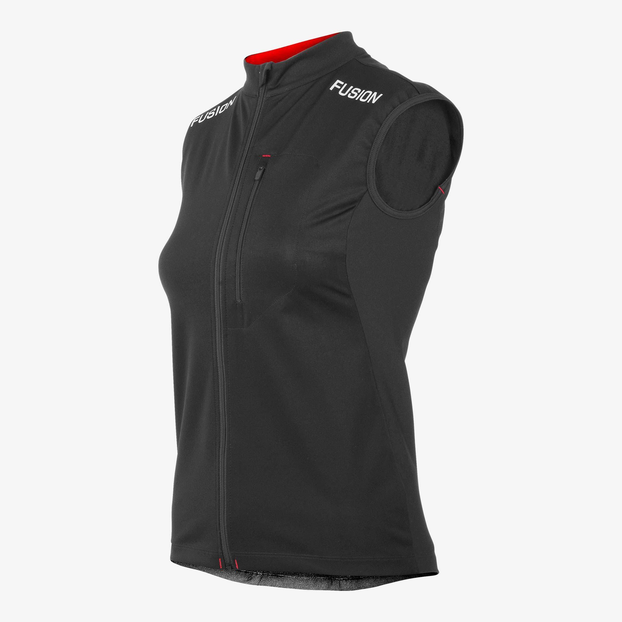 Fusion Women S2 Run Vest (Schwarz)