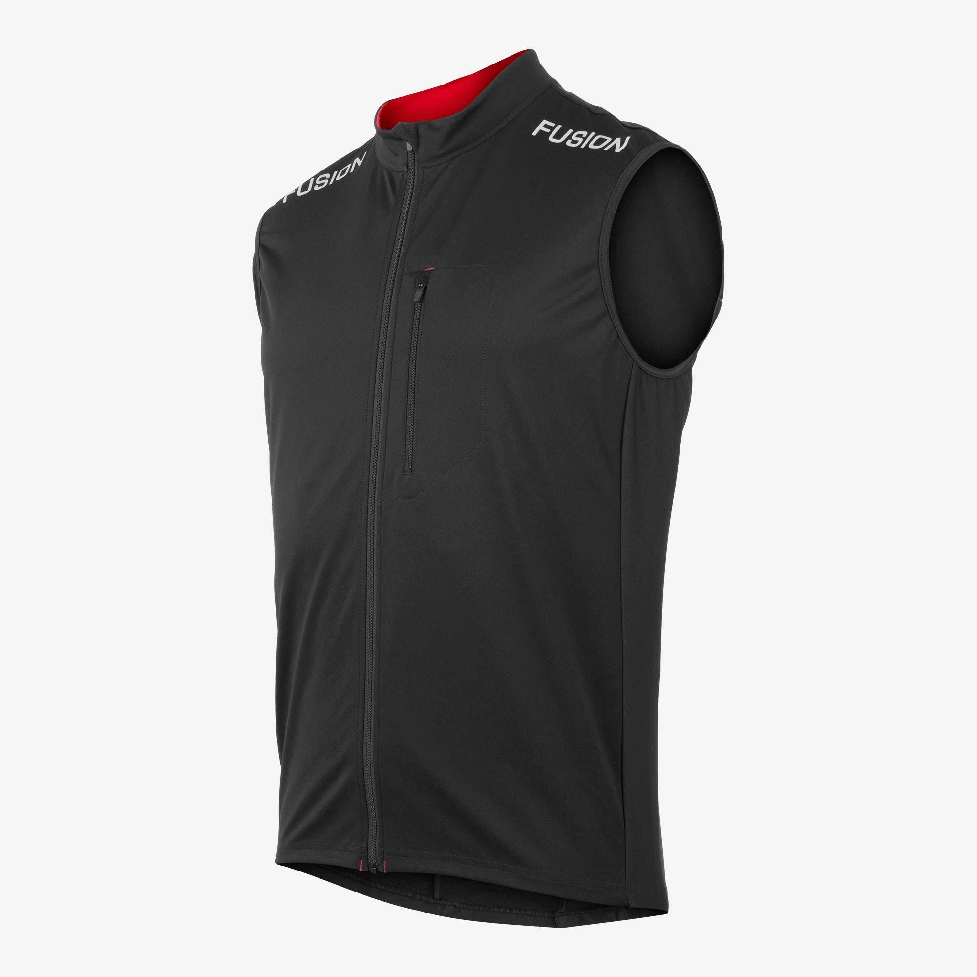 Fusion S2 Run Vest (Schwarz)