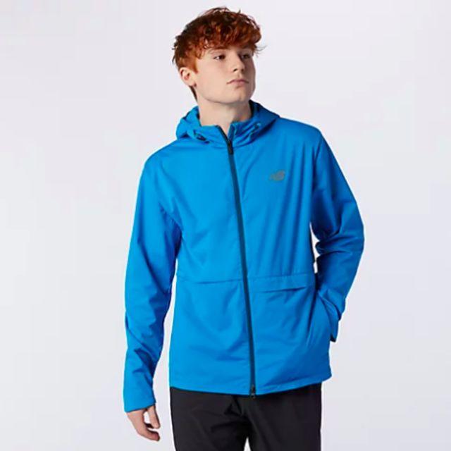 New Balance Q Speed Water Defy Jacket (Wave Blue)