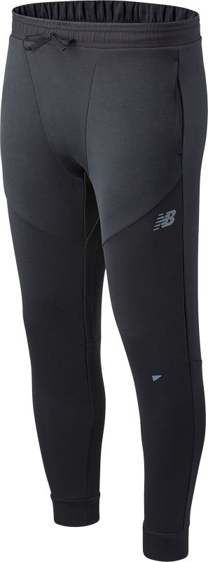 New Balance Q Speed Run Pant (Black Heather)