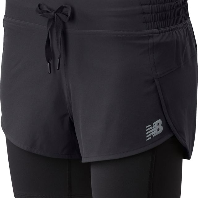 New Balance Lady Impact Run 2in1 Short