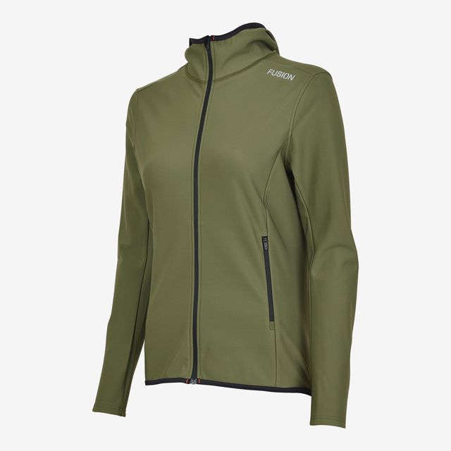 Fusion Lady C3+ Recharge Hoodie (Green)