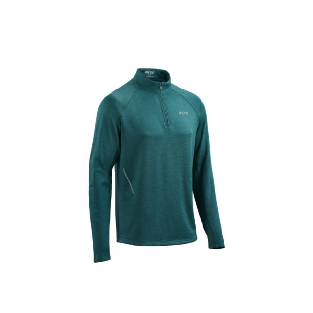 cep Winter Run Shirt (Green Melange)