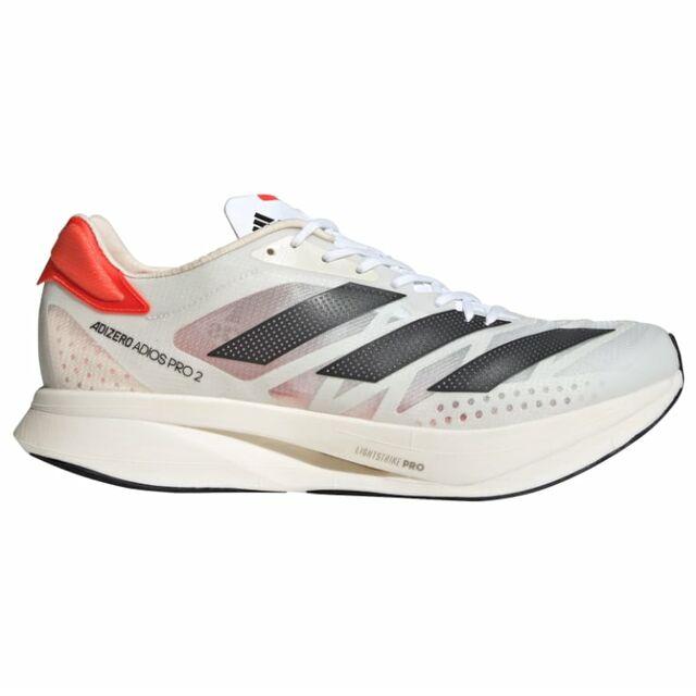 adidas Adizero Adios Pro 2 (Cloud White / Carbon / Solar Red)