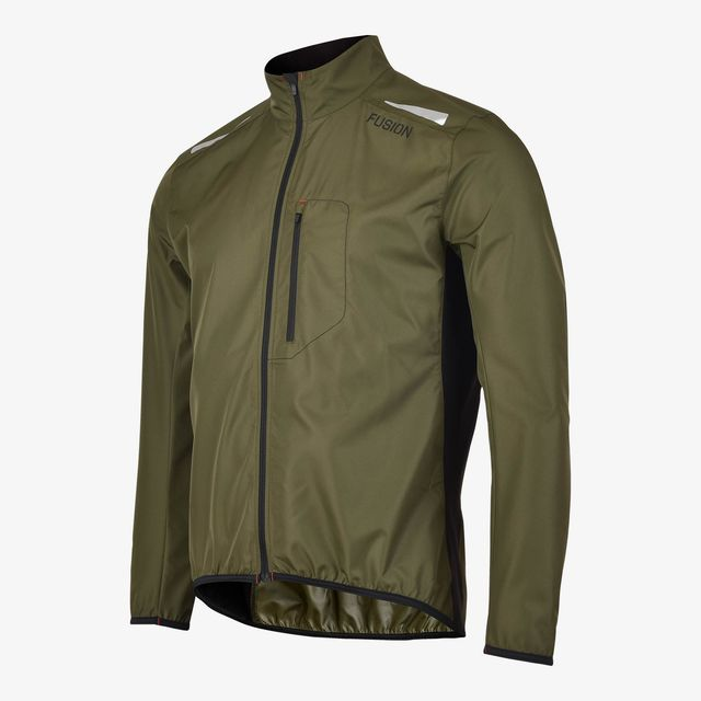 Fusion S1 Run Jacket (Green)