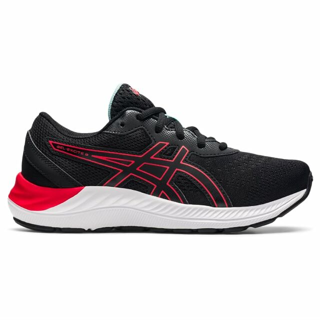 Asics Gel Excite 8 GS (Black Electric Red)