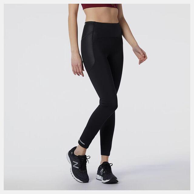 New Balance Lady Impact Run Heat Tight (Schwarz)