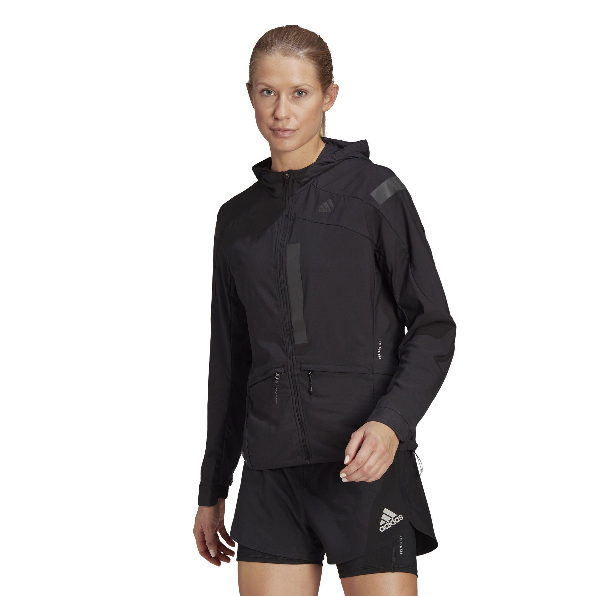 adidas Lady Marathon Jacket (Black)