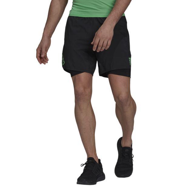 adidas Adizero 2in1 Short (Black)
