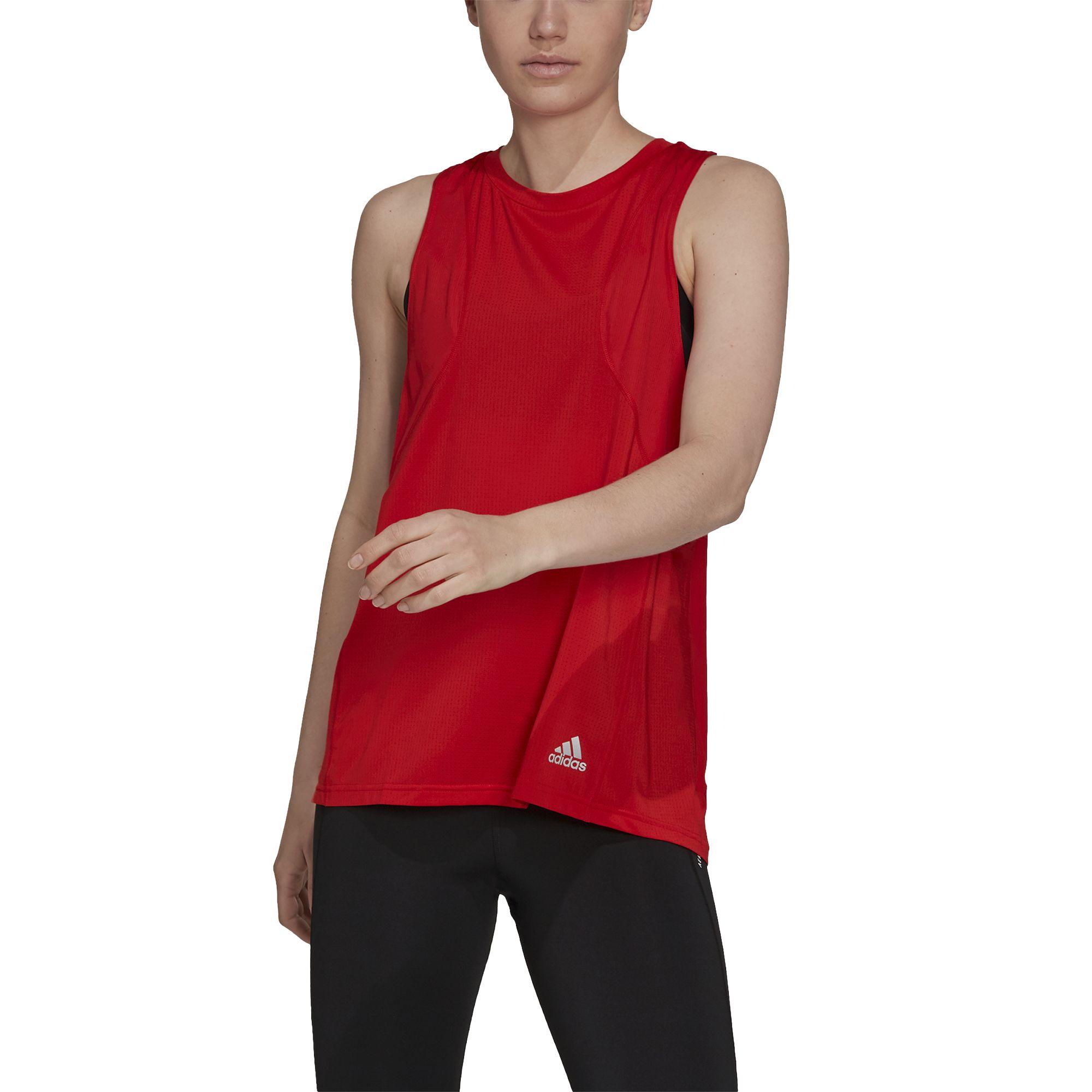 adidas Lady OTR Tank (Red)