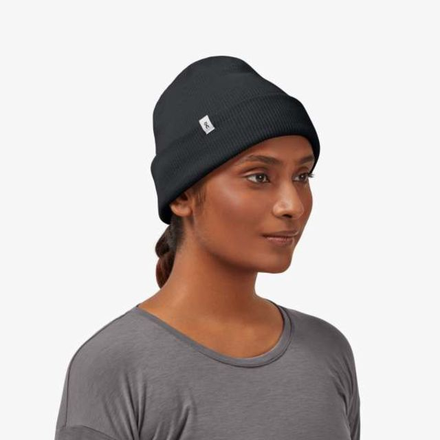 ON Merino Beanie (Black)