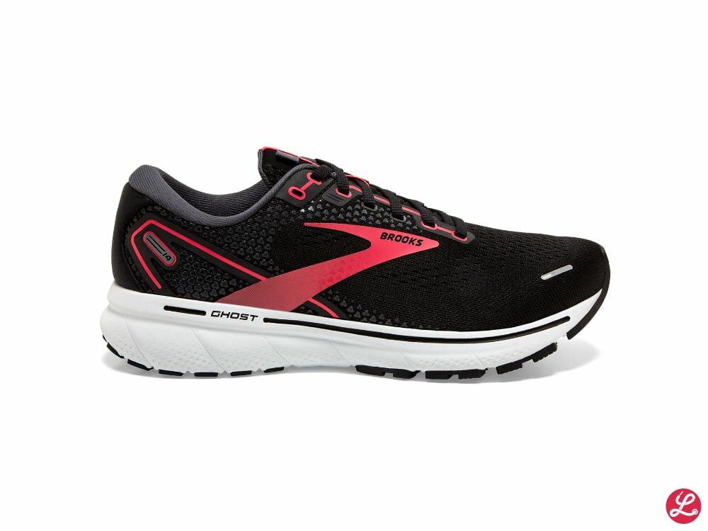 Brooks Lady Ghost 14 2a (Black/Coral/White)