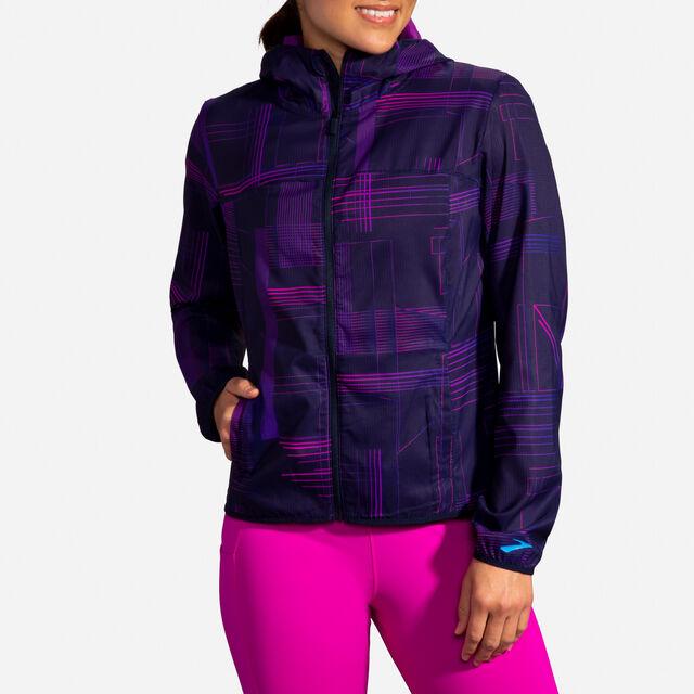 Brooks Lady Canopy Jacket (Matrix Navx Print)