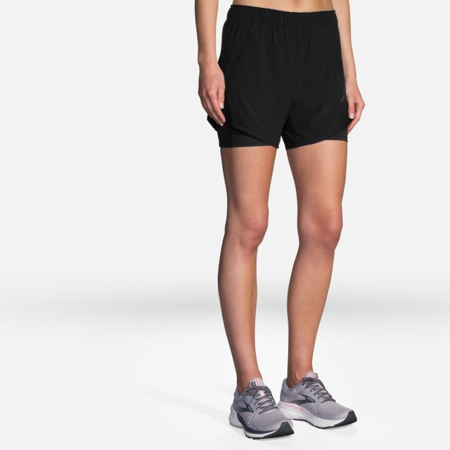 """Brooks Lady Chaser 5"""" 2-in-1 Short"""