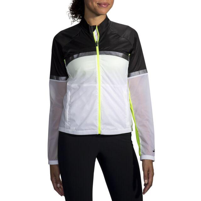 Brooks Lady Carbonite Jacket (Icy Grey/Black/Nightlife)