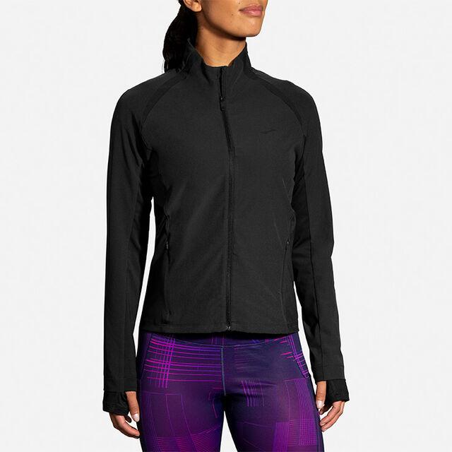 Brooks Lady Fusion Hybrid Jacket (Black)
