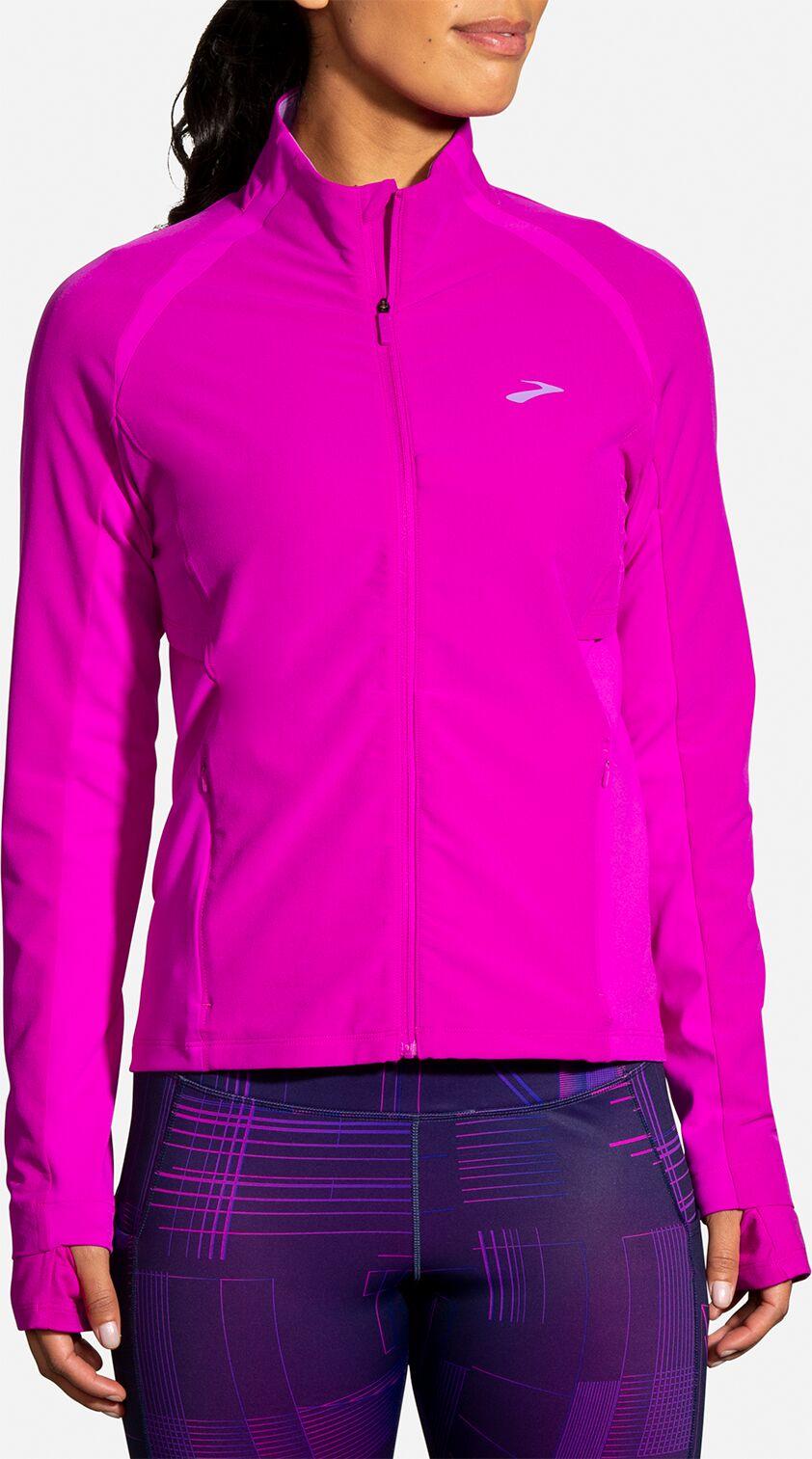 Brooks Lady Fusion Hybrid Jacket (Magenta/Heliotrope)
