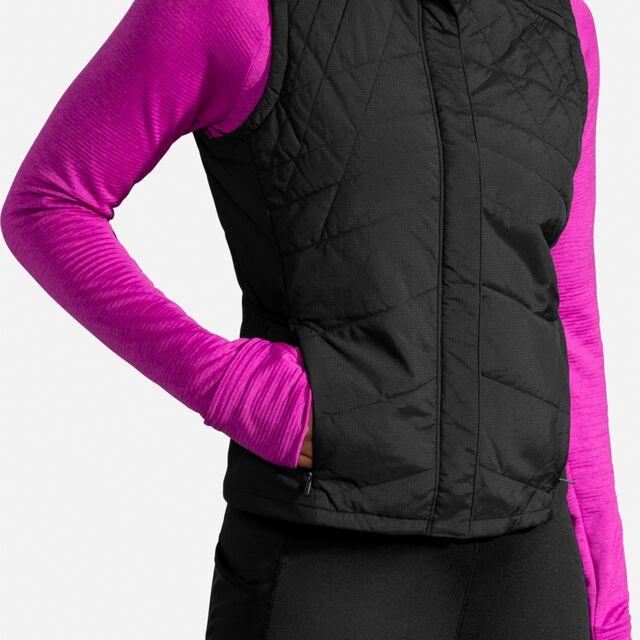 Brooks Lady Shield Hybrid Vest (Black)