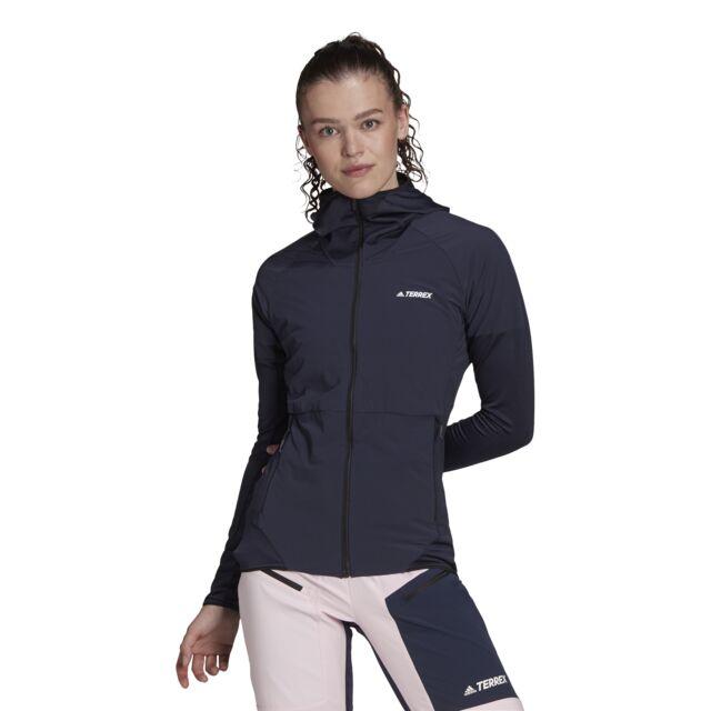 adidas Lady Skyclimb Fleece Jacket (Legend Ink)