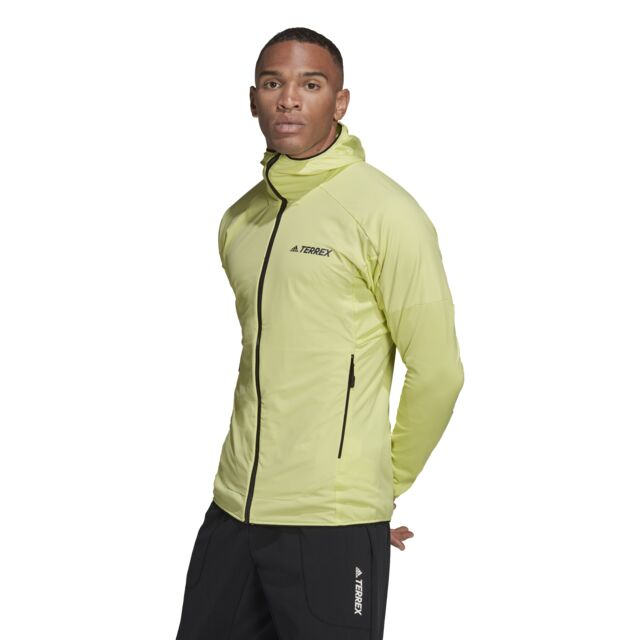 adidas Skyclimb Fleece Jacket (Pulse Yellow)