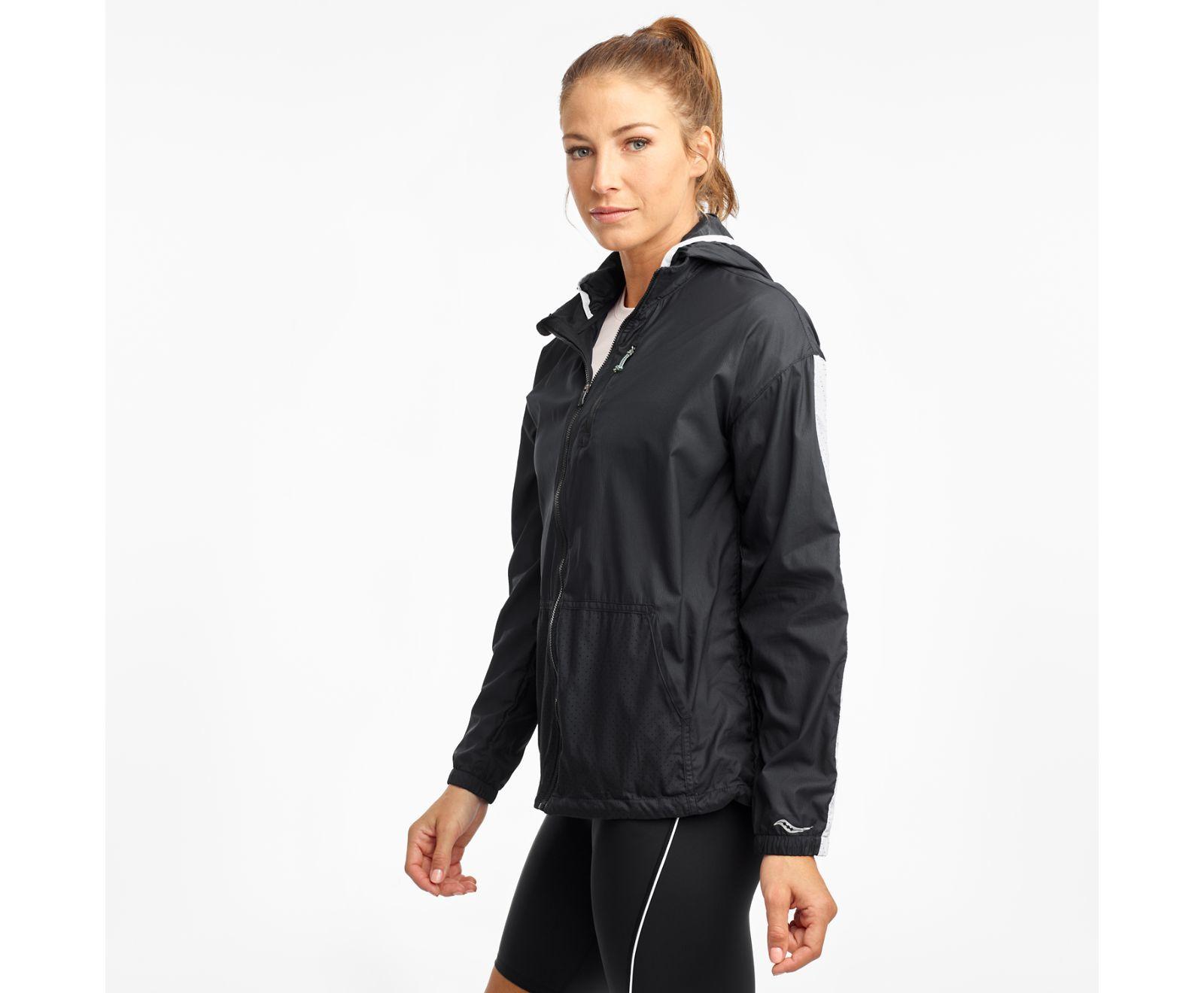 Saucony Lady Packway Jacket (Black)
