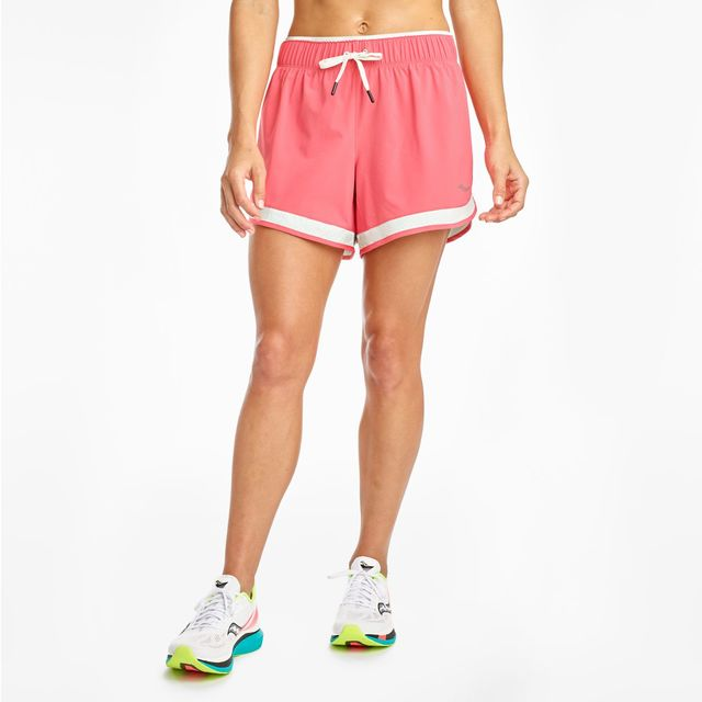 """Saucony Lady Outpace 5"""" Short (Calypso Coral)"""