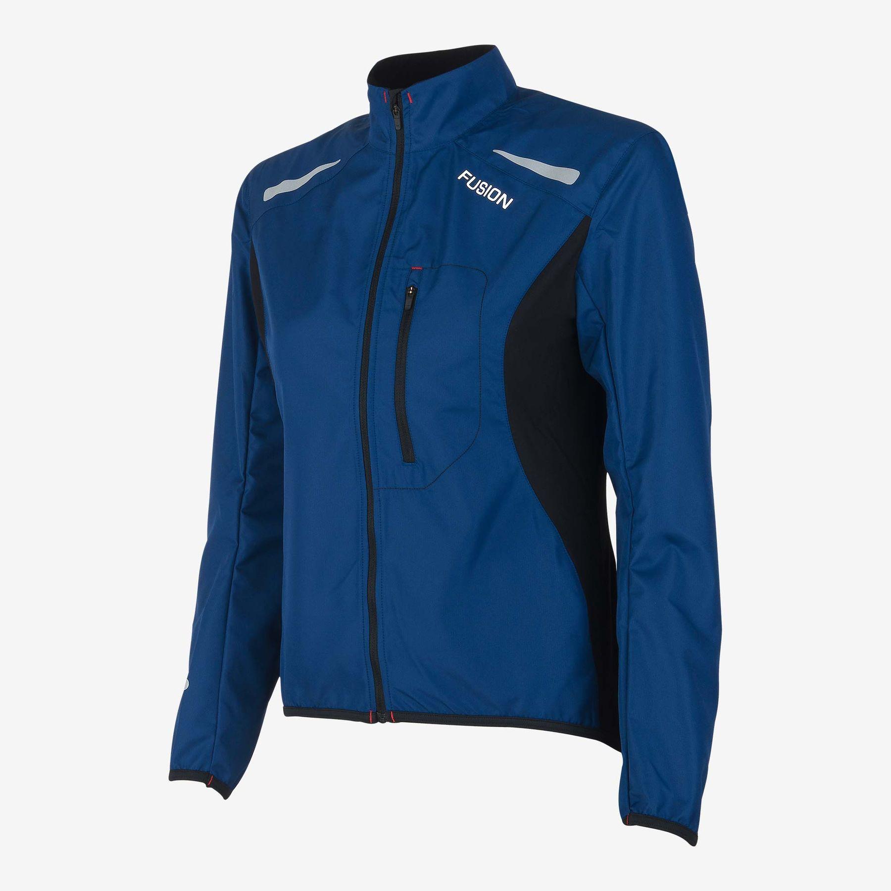 Fusion Women S1 Run Jacket (Night Blue)
