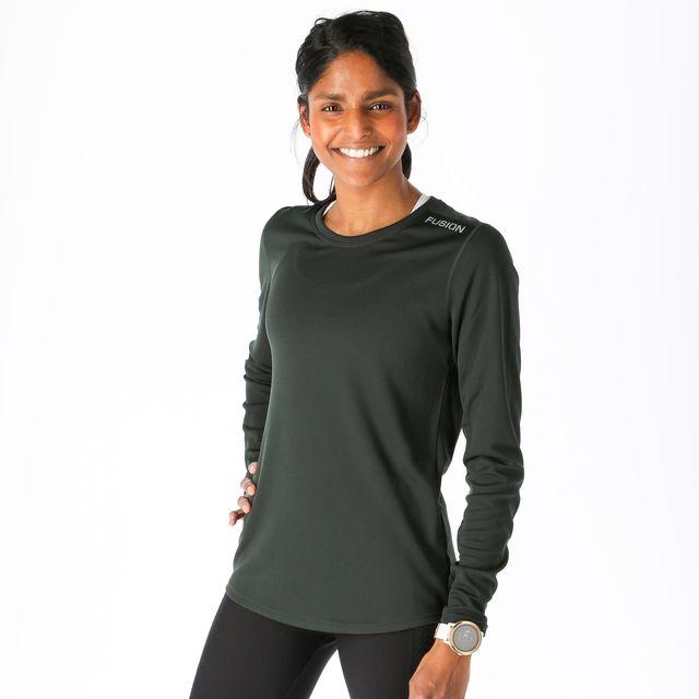 Fusion Womens Nova LS Shirt (Nova Green)