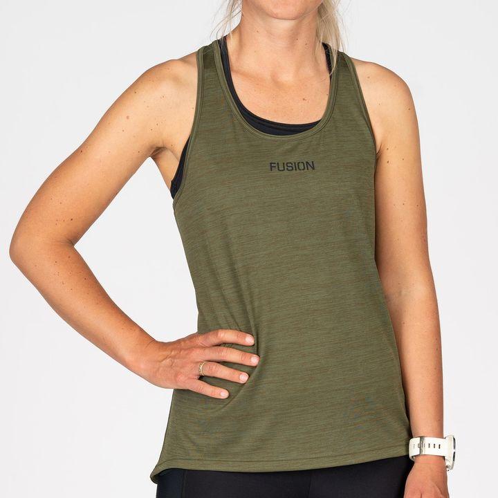Fusion Womens Training Top (Green)