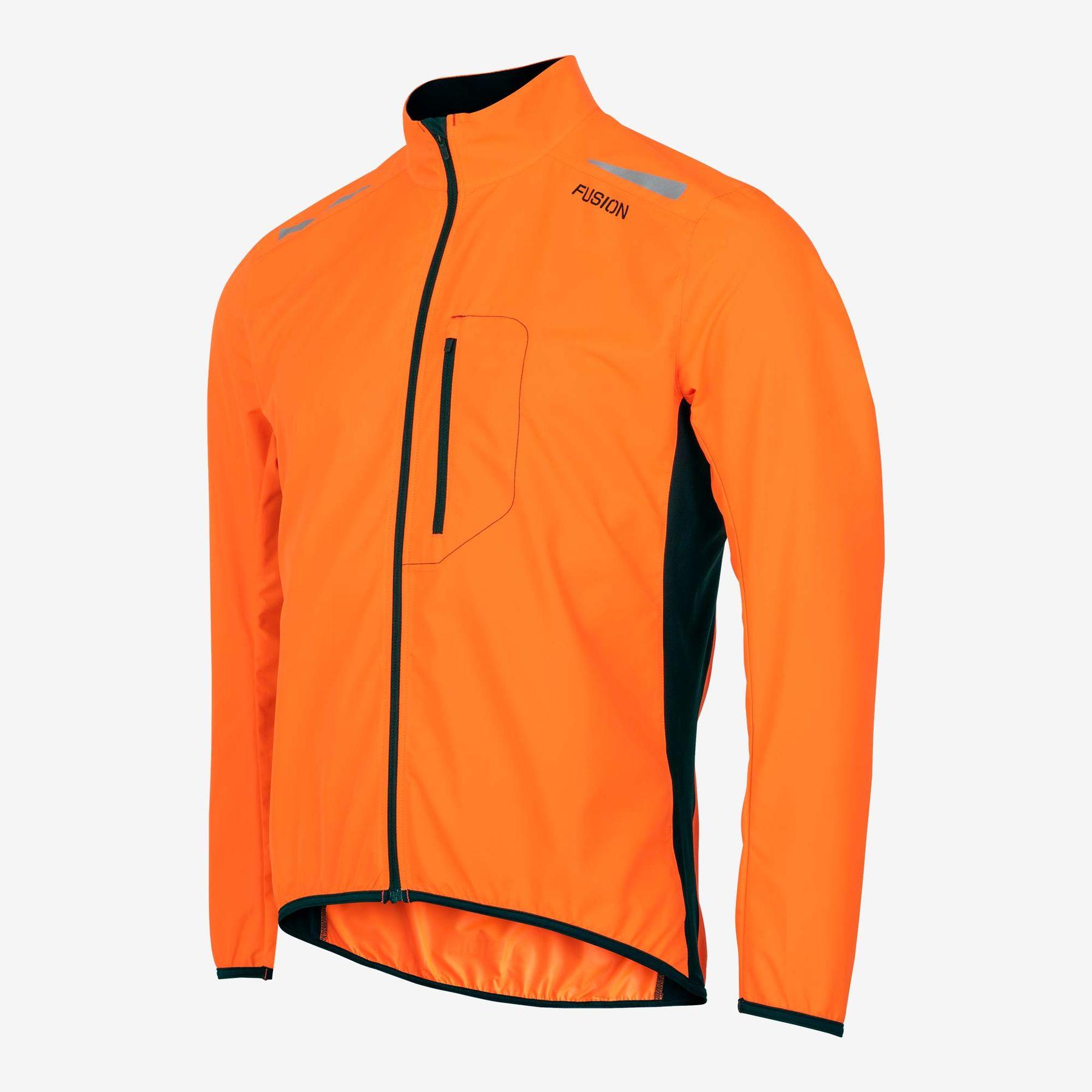Fusion S1 Run Jacket (Orange)