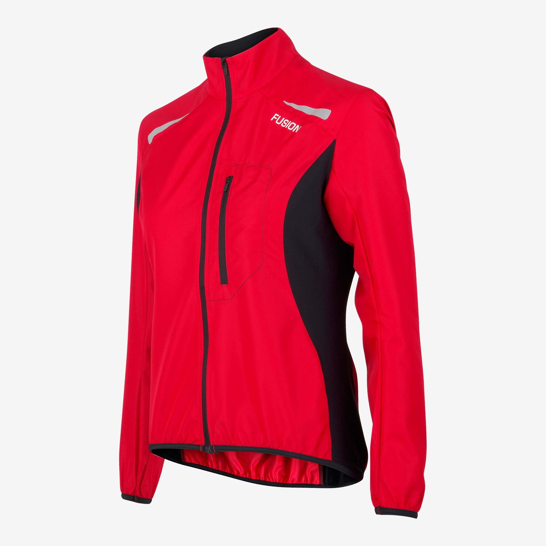 Fusion Women S1 Run Jacket (Red)