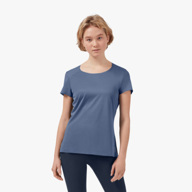 ON Lady Performance-T (Cerulean/Black)