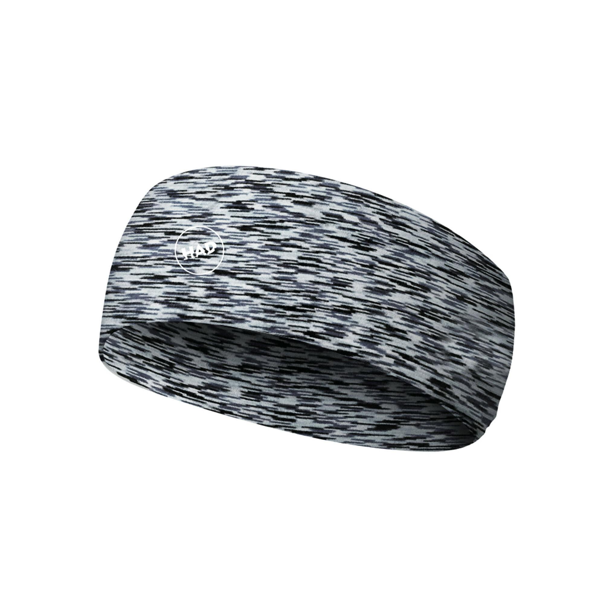 H.A.D. Merino Headband (Alex Melange Grau)