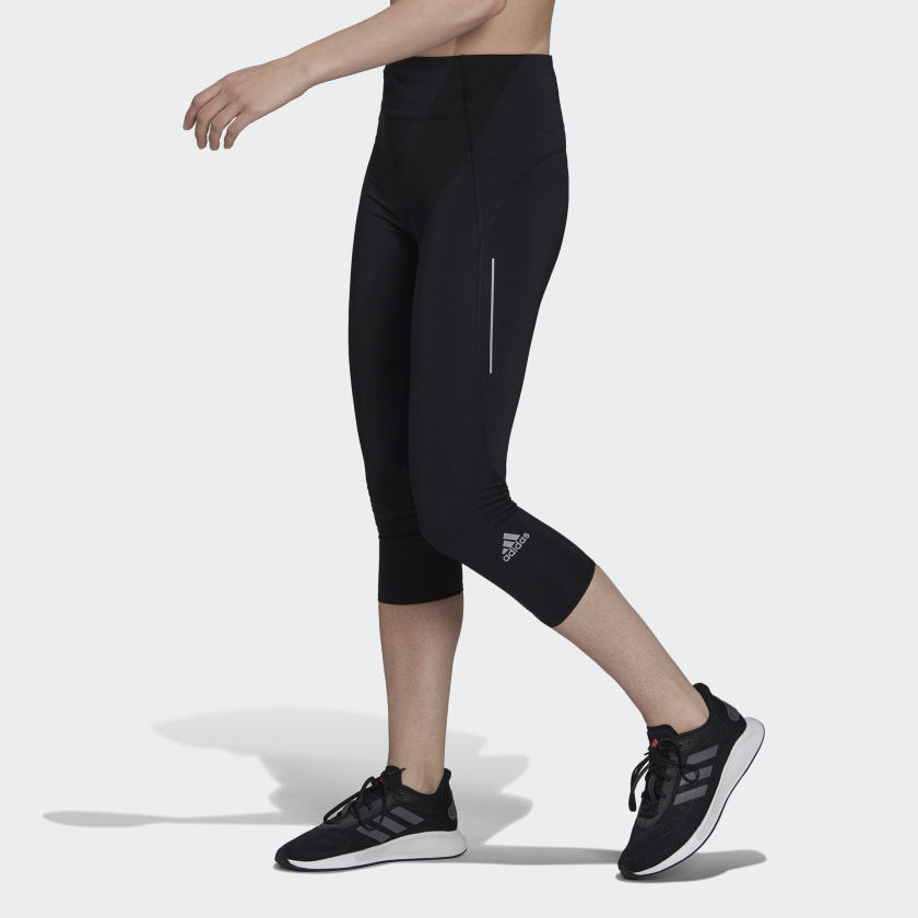adidas Lady OTR 3/4 Tight (Black)