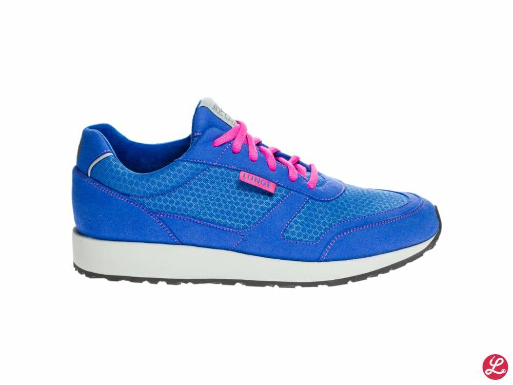 Lunge Damen Classic Run N (Royal Blue Light Grey)