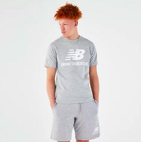 New Balance Logo T-Shirt (Grau)